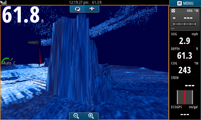 Sonar Simrad StructureScan 3D