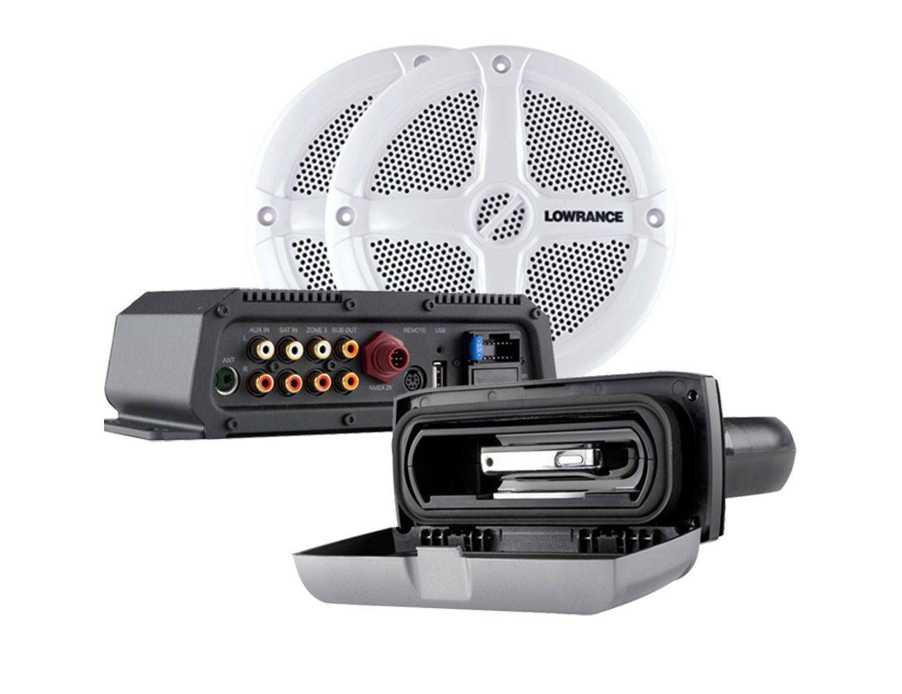 sistema di intrattenimento audio per la nautica SonicHub®